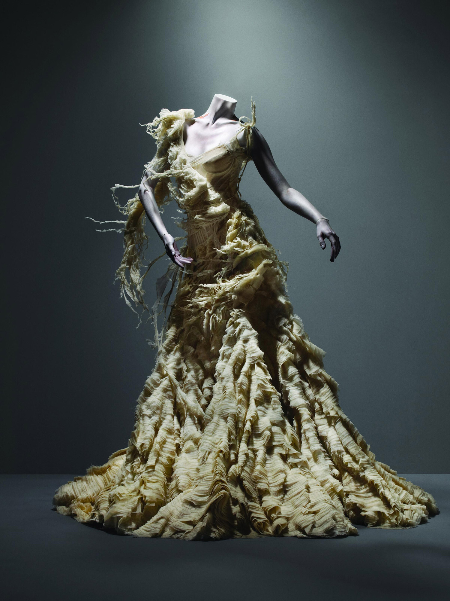 Alexander McQueen Oyster Dress