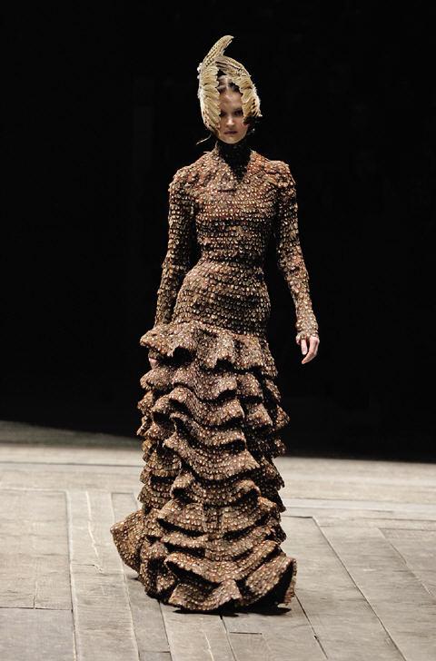 Dress Widows Of Culloden Autumn Winter 2006 7 Alexander Mcqueen Savage Beauty The