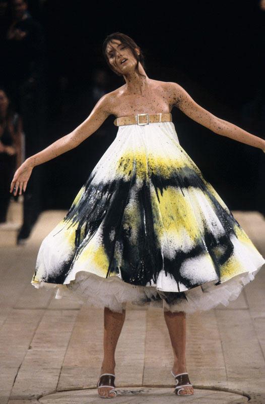 Dress No 13 Spring Summer 1999 Alexander Mcqueen