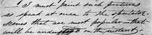 William Sidney Mount Diary Entry