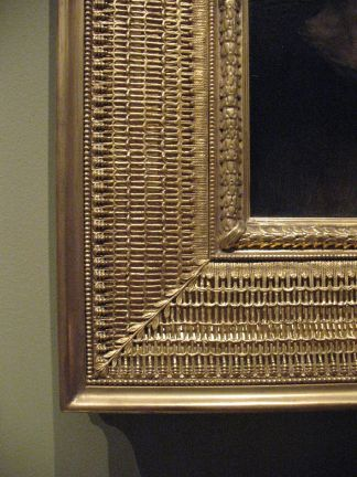 Detail of Stanford White frame