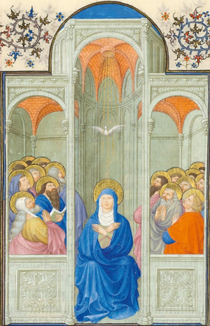 Folio 84r illumination