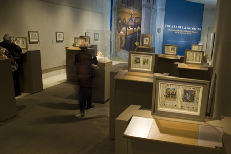 View of the Pages in the Galleries