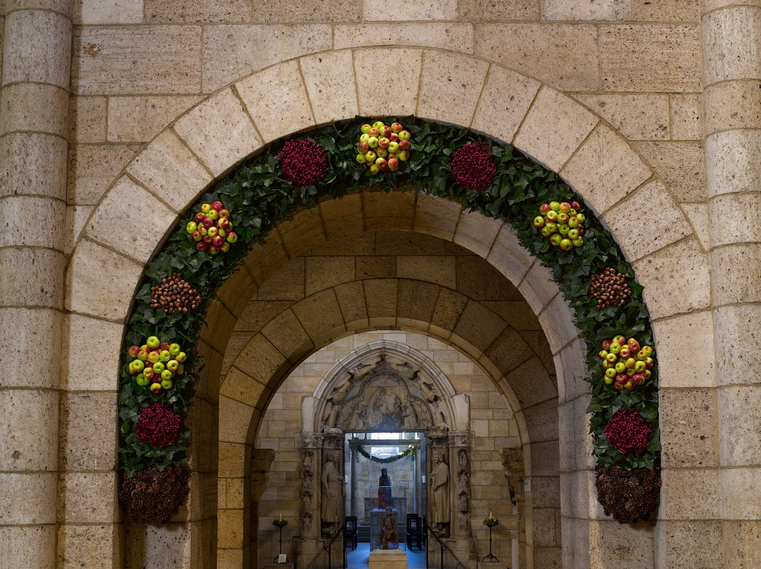 Decorated arch