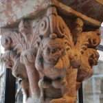 A capital in Cuxa Cloister