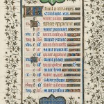 April page from the Belles Heures