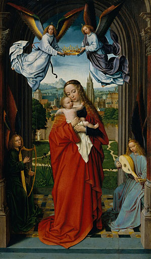 Virgin and Child with Four Angels, ca. 1510-15