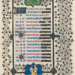 May Page from the Belles Heures