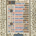 June page from the &lt;em&gt;Belles Heures&lt;/em&gt;