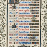 July page from the &lt;em&gt;Belles Heures&lt;/em&gt;
