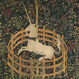 The Unicorn in Captivity (detail)