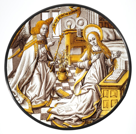 Roundel, Annunciation to the Virgin