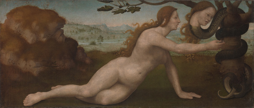 Adam; Eve (detail)