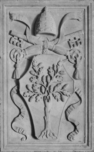 Arms of Pope Julius