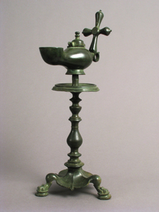 Byzantine Lamp with Cross (small)
