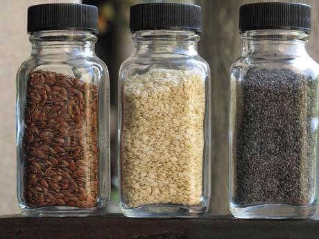 Flax, Sesame, Poppy