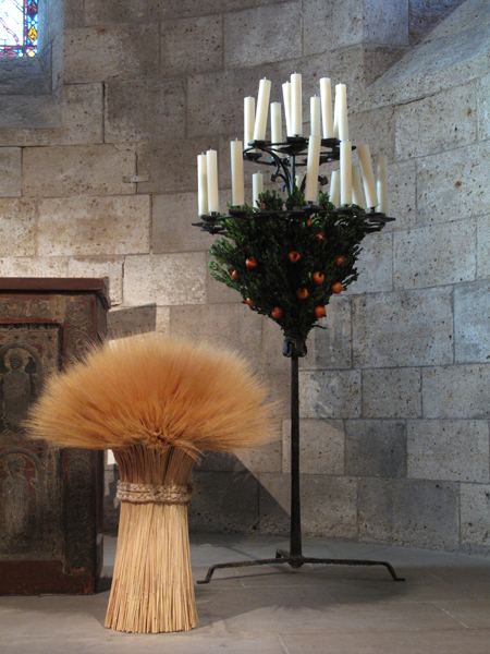 Wheat Sheaf in Langon Chapel