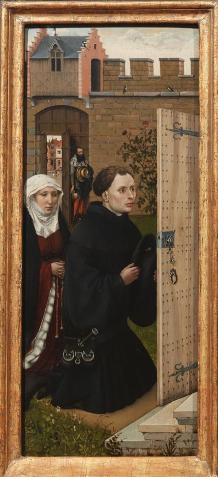 Annunciation Triptych (detail)