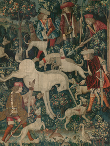 The Unicorn Defends Itself (detail)