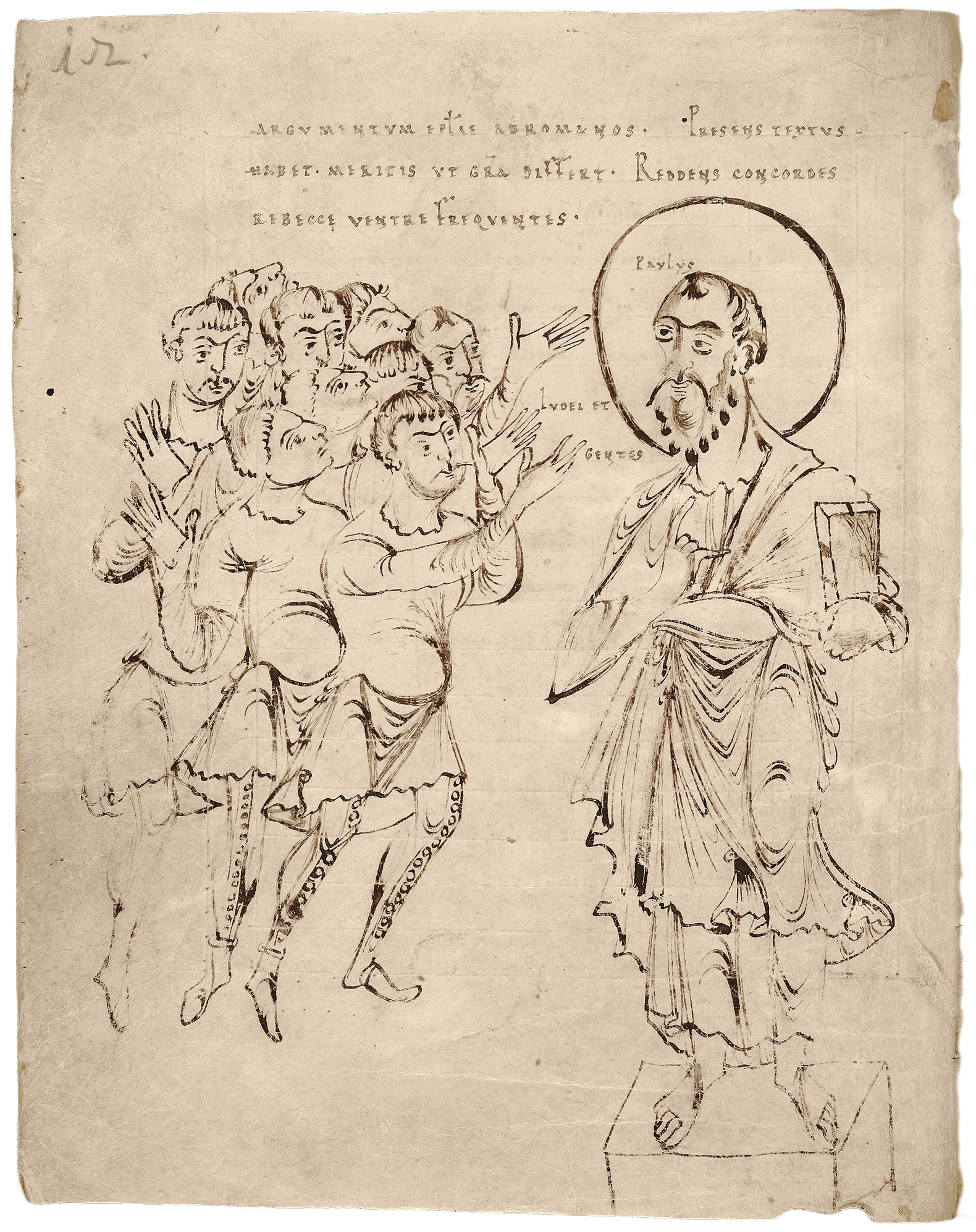 Saint Paul Preaching to the Jews and Gentiles of Rome | Pen and ...